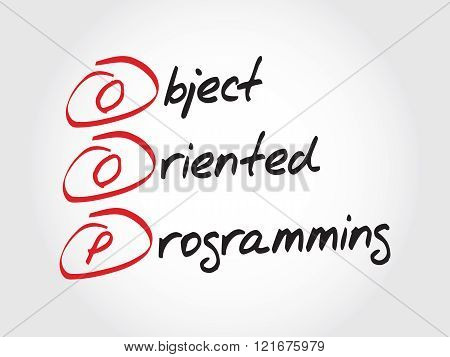 Oop Object Oriented Programming