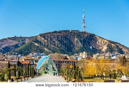 View of Tbilisi from Rike Park