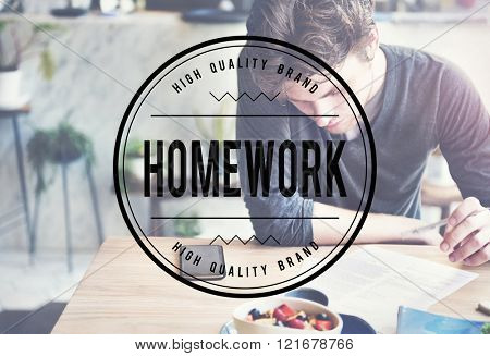 Homework Assignment Task Education Concept