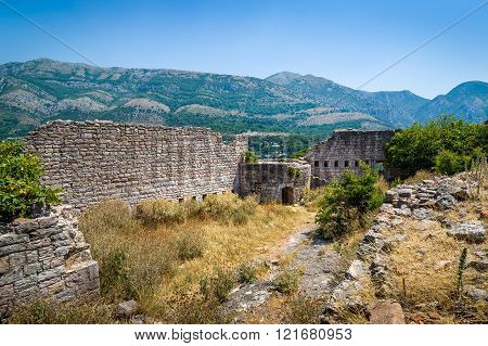 Ruins of old Sutomore fortress