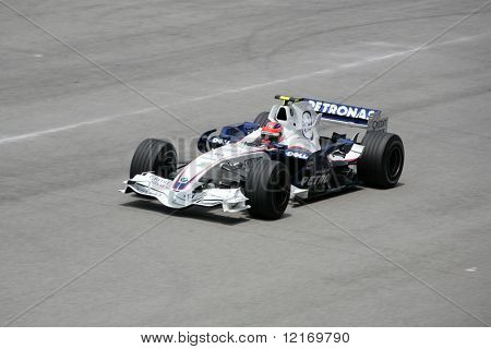 f1 2007 bmw petronas kubica