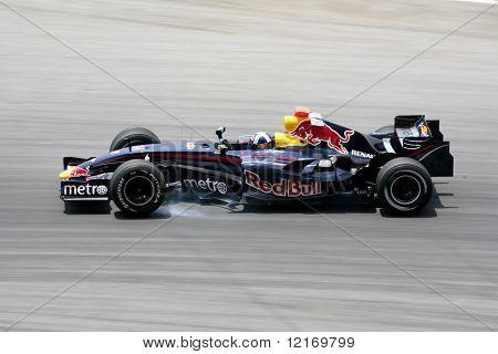 f1 2007 red bull renault david courthard