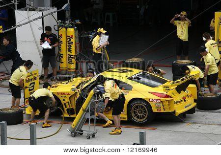 Pit-stop, Japan Super GT 2007