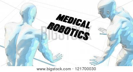 Medical Robotics Discussion and Business Meeting Concept Art