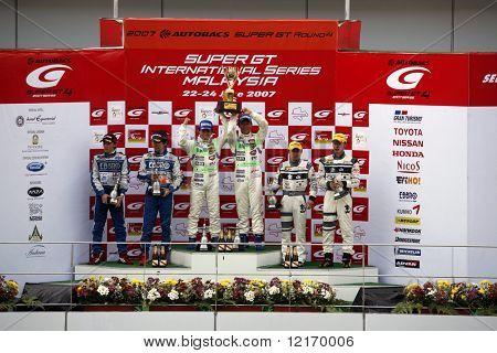 Japan Super GT 2007 winners