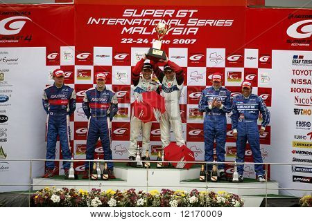 Japan Super GT 2007 winners