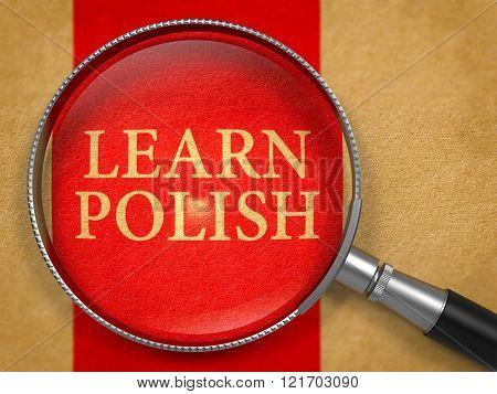 Learn Polish through Magnifying Glass.