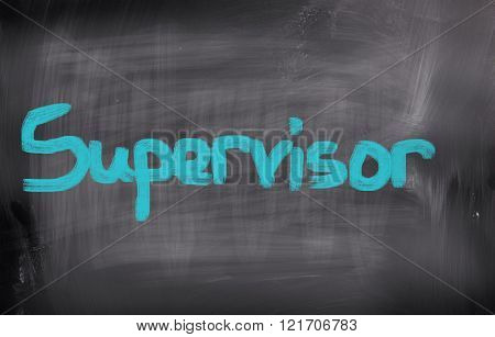 Concept Handwritten With Chalk On A Blackboard