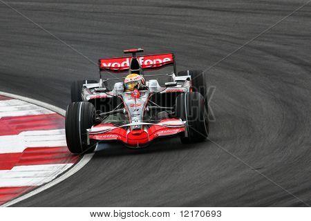 Lewis Hamilton, England 2008