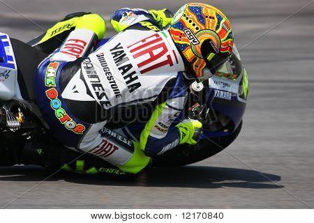 Valentino Rossi, Italy of Fiat Yamaha Team MotoGP 2008
