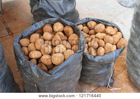 Two Bags Of Potatoes