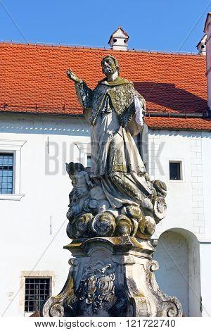 Statue Of Saint Ivan Nepomuk