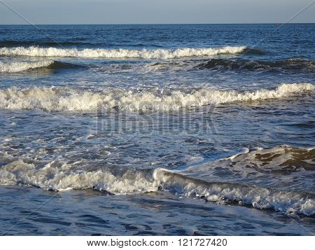 Beach And Waves Seascape