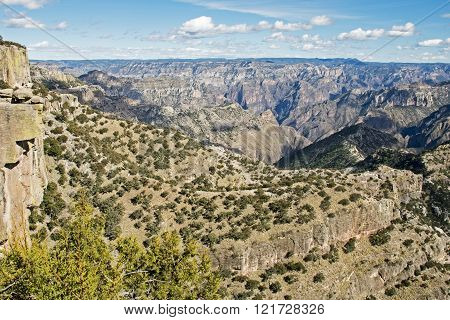 Natural Splendor Of The Copper Canyon