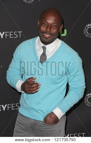 LOS ANGELES - MAR 11:  Jimmy Jean-Louis at the PaleyFest Los Angeles - Empire at the Dolby Theater on March 11, 2016 in Los Angeles, CA