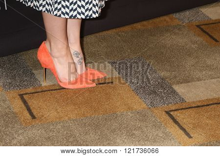 LOS ANGELES - MAR 13:  Melissa Benoist at the PaleyFest Los Angeles - Supergirl at the Dolby Theater on March 13, 2016 in Los Angeles, CA