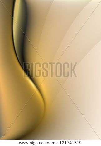Abstract background with smooth lines, vector design
