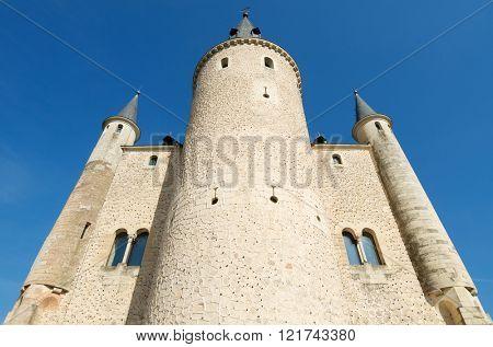 Tower in the Alcazar of Segovia, Castilla Leon, Spain