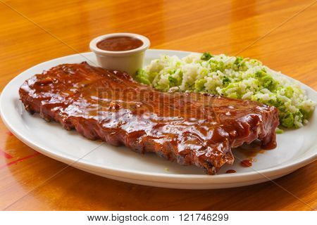 Tradicional Barbecue Ribs