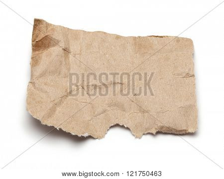 piece of rip paper