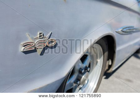 Ford Fairalne Falcon Fender Emblem