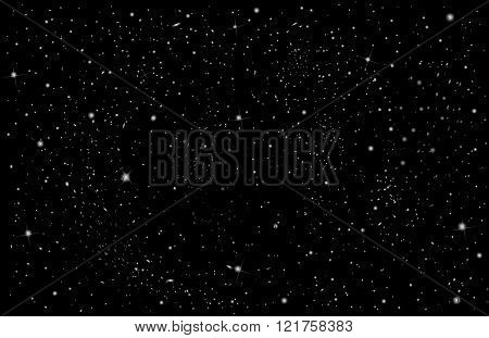 background. Starry night sky. Stars, sky, night.