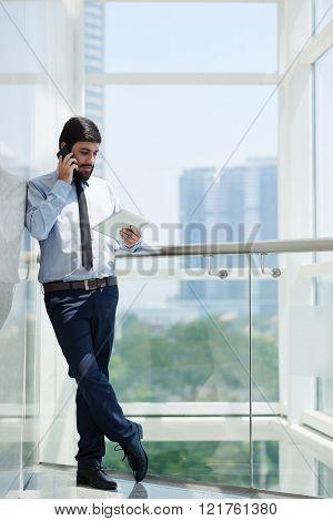 Busy entrepreneur