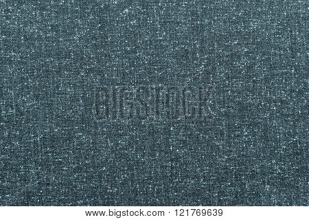 Abstract Speckled Texture Rough Fabric Of Indigo Color