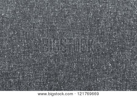 Abstract Speckled Texture Rough Fabric Of Gray Color