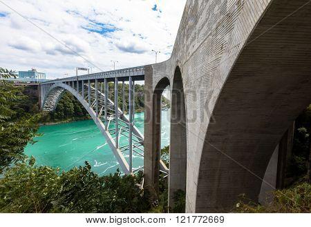 Bridge In Niagara Falls