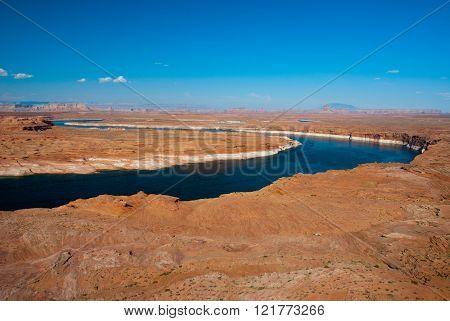 Upper Colorado River, Arizona And Utah, Usa