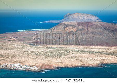 Mirador del Rio in Lanzarote Canary Islands Spain