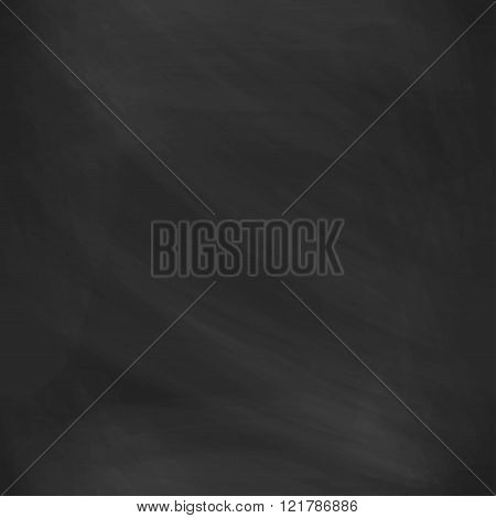 Seamless pattern black chalk board with stains. Realistic board backdrop for your design. Seamless v
