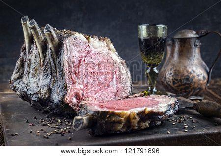 Dry Aged Barbecue Cote De Boeuf