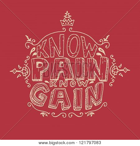 Know Pain Know Gain