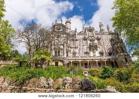The Regaleira Palace (known As Quinta Da Regaleira) In Sintra