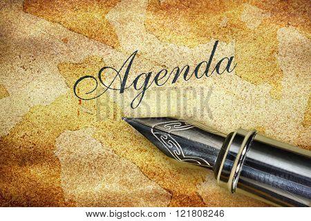 Pen And Word Agenda