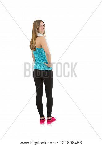 Fitness Girl Full Length