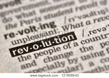 Revolution Word Definition Text