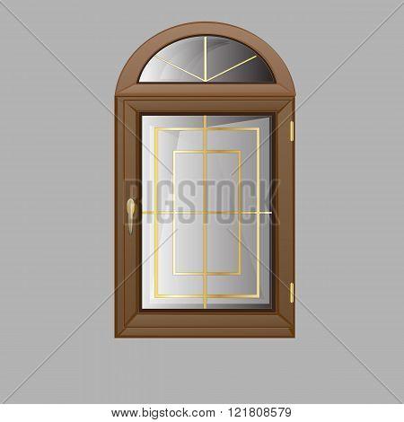 vector windows arch plastic