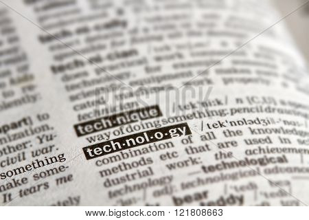 Technology Word Definition Text