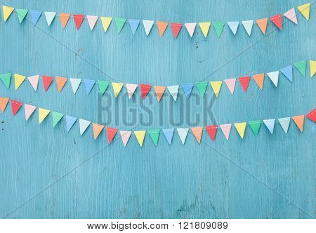 Colorful Paper Bunting