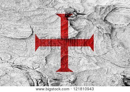 Templar knight flag