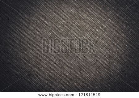 Beautiful Dark Metallic Texture With A Brightening In The Center