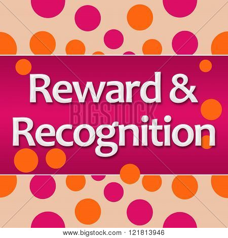 Reward Recognition Peach Pink Square