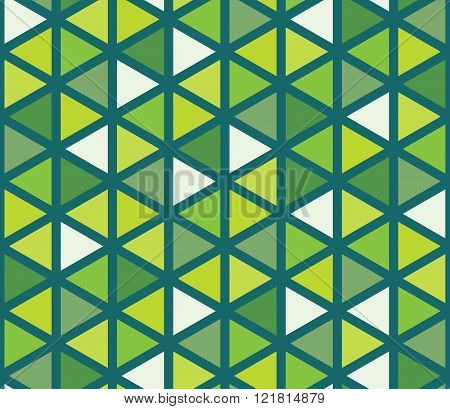 Vector modern seamless colorful geometry triangle pattern color abstract