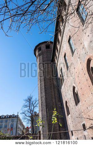 Tower of Palazzo Madama, Turin, Italy