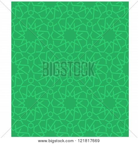Ornamental seamless loop arabic or islamic geometric pattern tiles. Tessellation background