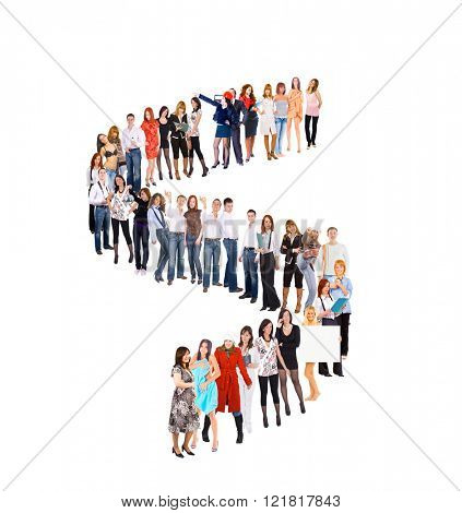 People in Queue Waiting for their Turn