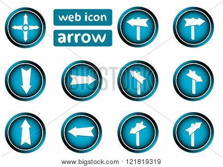 Clipart icon arrows